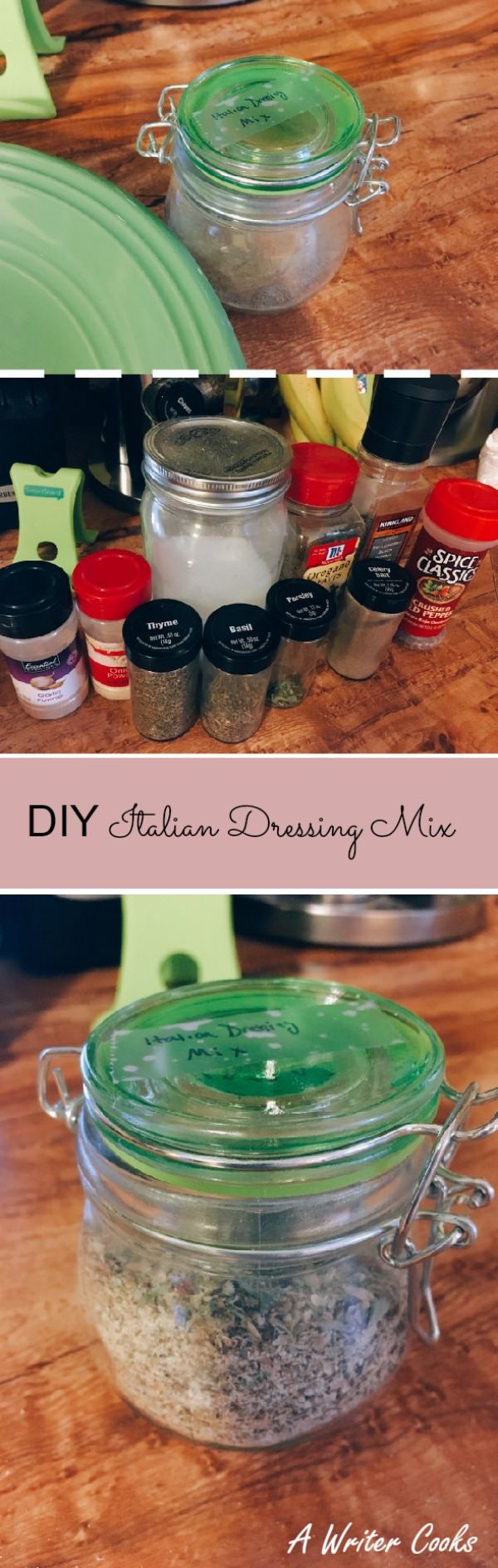 DIY Italian Dressing Mix with Chicken Recipe
